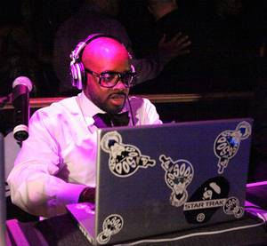 Jermaine Dupri at E's <em>Daily 10</em> Smashtime Saturdays at Body English.