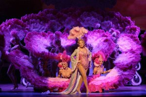 Bette Midler in <em>The Showgirl Must Go On</em> in The Colosseum at Caesars Palace.