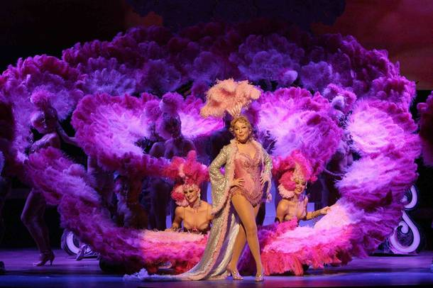 Bette Midler in The Showgirl Must Go On in The Colosseum at Caesars Palace.