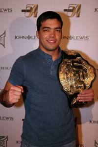 "UFC light heavyweight champion Lyoto ""The Dragon"" Machida at Studio 54."