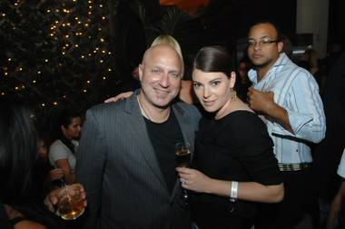 Top Chef's Tom Colicchio and Gail Simmons.