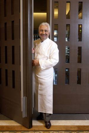 Celebrated French chef and restaurateur Guy Savoy.