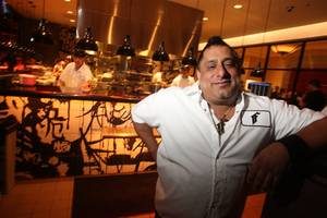 First Food & Bar chef and owner Sam DeMarco.