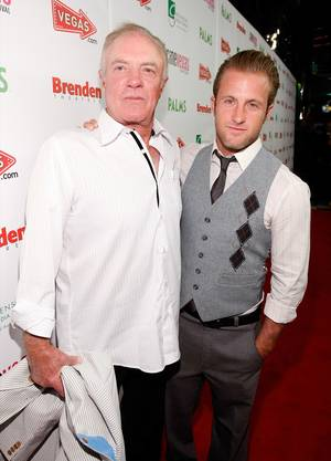 James Caan and Scott Caan at 2009 CineVegas.