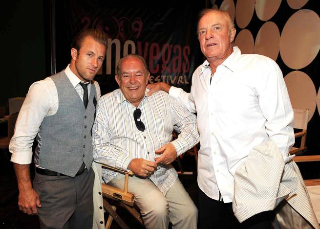 Scott Caan, Robin Leach and James Caan.