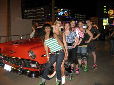 CineVegas 2009 wrapped up last night with girls on rollerskates, a drive-in and a filmmaker family reunion in the heart of Las Vegas.