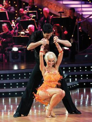 Holly on <em>Dancing With the Stars</em>.