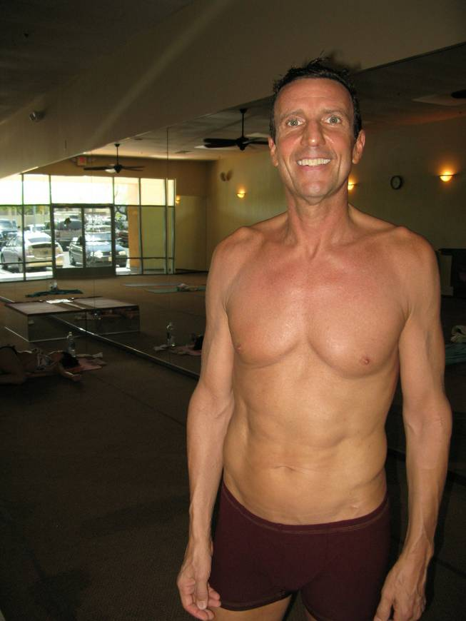 """Jersey Boys"" actor and yoga instructor John Salvatore."