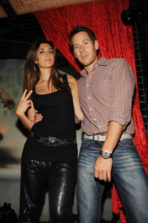 Brittny Gastineau and Jorge Perez at Lavo.