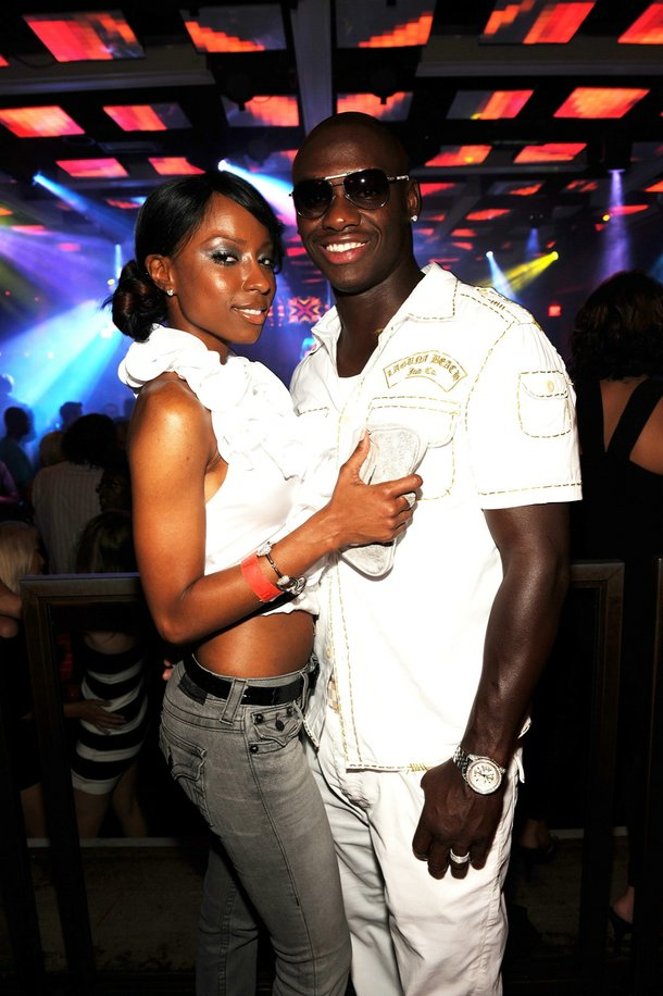 Denise Tarver and Antonio Tarver at Jet in The Mirage.