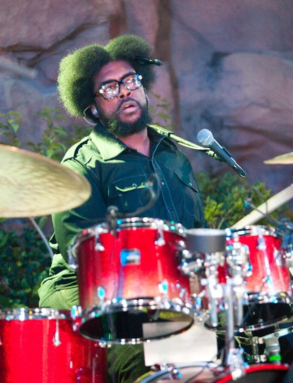 The Roots perform during Friday Night Live at the Hard Rock pool.