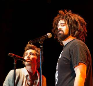 Singer Adam Duritz and his band Counting Crows headline with Augustana at Red Rock Resort on July 24.