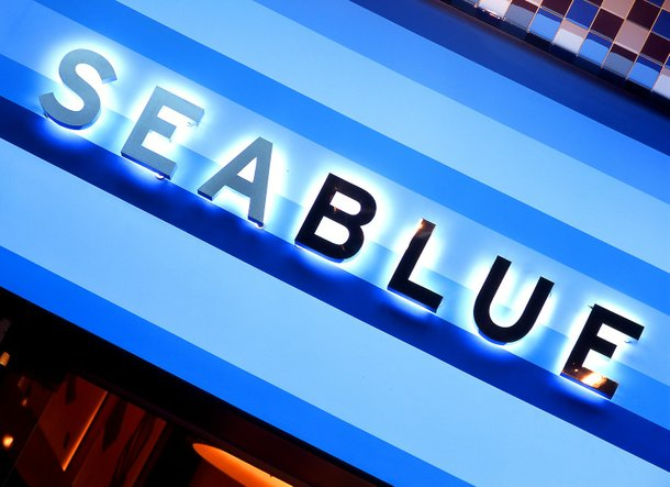 Seablue at the MGM Grand had two chefs represent the
