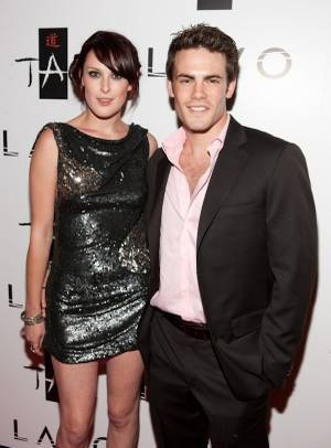 Rumer Willis and Micah Alberti at Rumer's 21st birthday celebration at Tao.