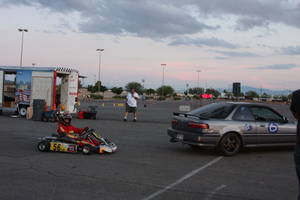 SCCA has classifications for almost any type of vehicle, go karts included.