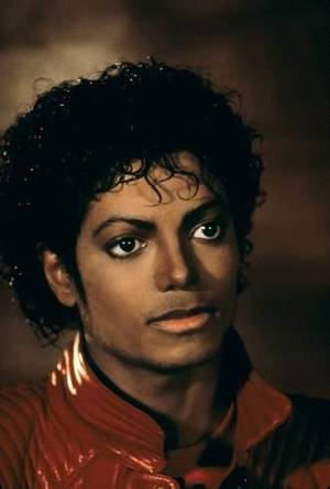 Michael Jackson in <em>Thriller</em>.