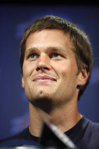 Tom Brady and the chin that launched a thousand first downs.