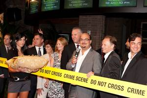 The cast and creators of <em>CSI: Crime Scene Investigation</em> unveil <em>CSI: The Experience</em> at the MGM Grand.