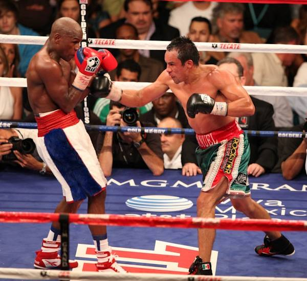Floyd Mayweather Jr. vs. Juan Manuel Marquez at MGM Grand Garden Arena.