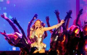 Kylie Minogue on Oct. 3 at the Pearl inside the Palms.