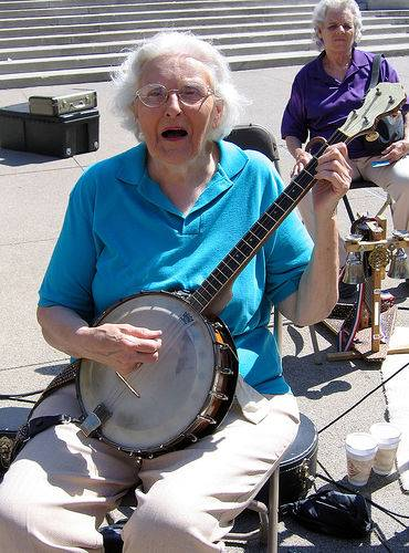 Grandmas and banjos always welcome in Hendertucky.