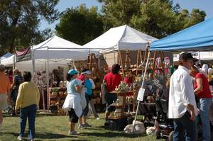 Art in the Park in Boulder City.