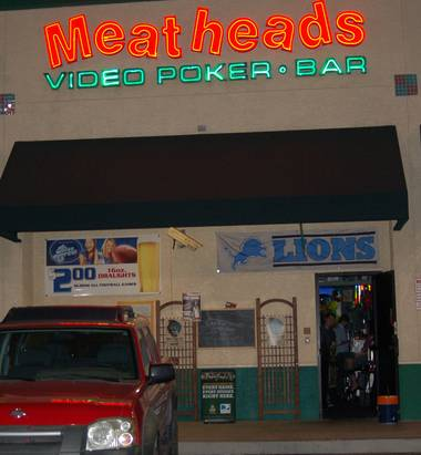 Don't judge a book by its cover—Meatheads is more than just a sports bar.