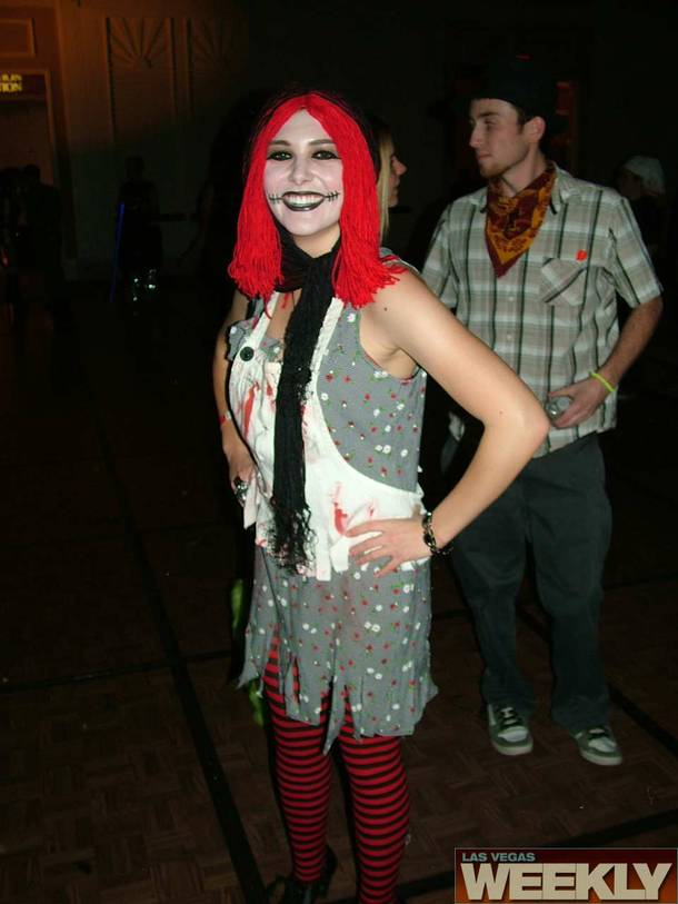 The 12th annual Devil's Night costume ball, October 24, 2009.