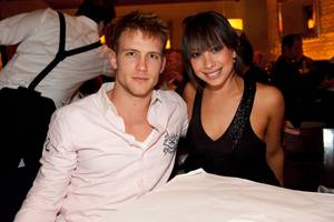 Max Zagorski and Cheryl Burke at Lavo.