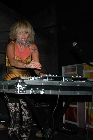 Alexei Perry gets down at Beauty Bar on Nov. 3.