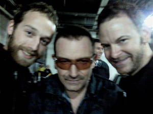 Ok, so we know it's blurry, but it's Bono. He's allowed to be.