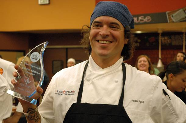 John Paul Labadie of Marche Bacchus won the Quickfire Challenge.