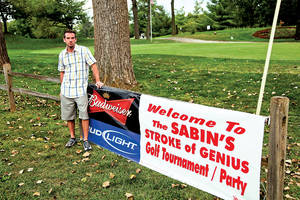 Sabin Orr was an avid golfer before his stroke. After his stroke, his friends held a charity golf event to raise money.