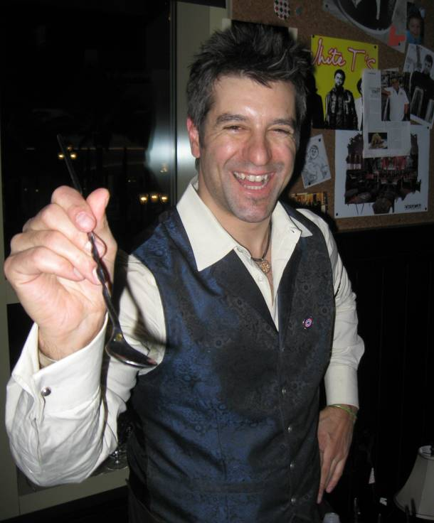 That's one lovin' spoonful! BarMagic's John Hogan mixes it up for Repeal Day at First Food & Bar.