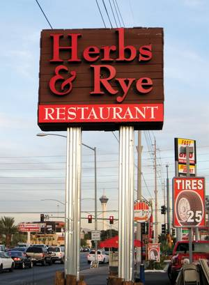 Herbs & Rye on 3713 West Sahara.