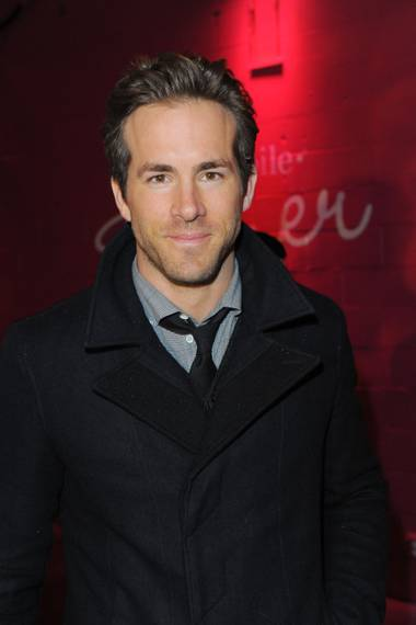 Ryan Reynolds at the Buried cast dinner at the T-Mobile MyTouch Diner at Sundance on  Jan. 23, 2010.