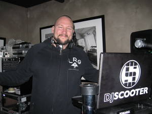Prive's DJ Scooter lends his talents to actor Danny Masterson's Downstairs nightclub during Sundance 2010.