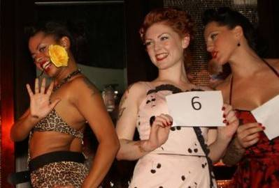 Meow! Contestant No. 5 on the left took home the $2,500 in cash and prizes.