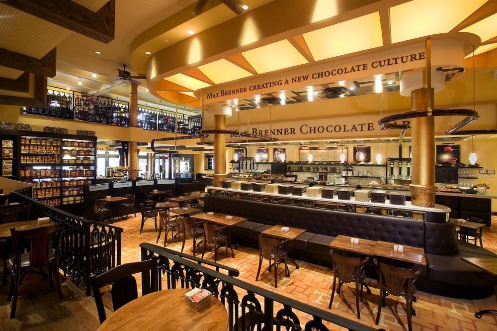 Max Brenner Chocolate Bar Boston