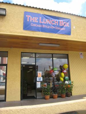 The Lunch Box opened its door Monday across from UNLV.