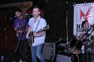 The So So Glos came all the way from Brooklyn to play Neon Reverb.