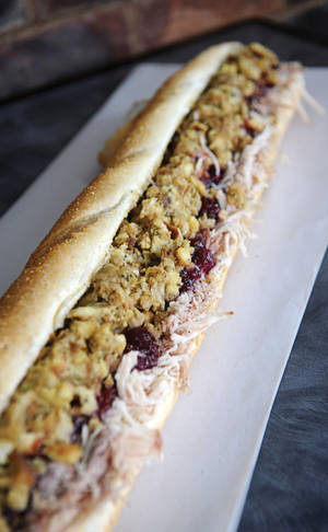 The sandwich that started a dream: Capriotti's beloved Bobbie.