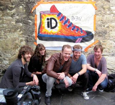 Customized kicks by Imagine Dragons at South by Southwest
