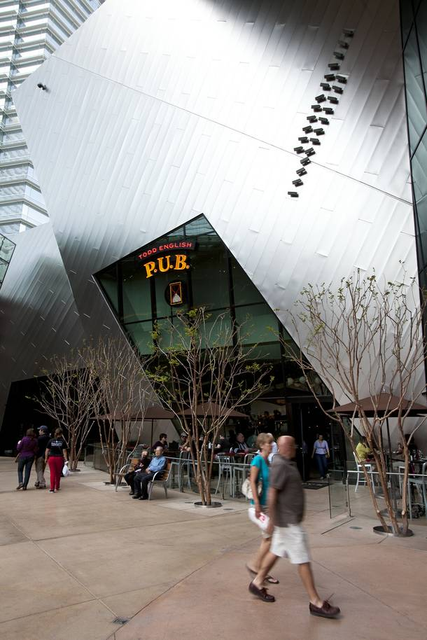 Todd English P.U.B., located inside Aria at CityCenter.