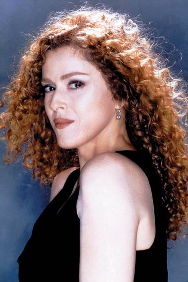 Bernadette Peters.