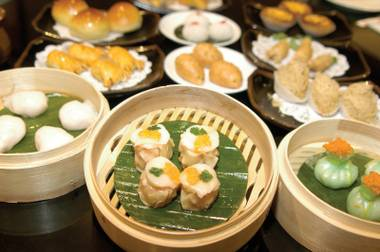 The go-to place for dim sum in Vegas isn't Chinatown.