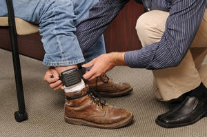 What about Spam? No, that won't fool an ankle alcohol monitor either, say law enforcement officials.