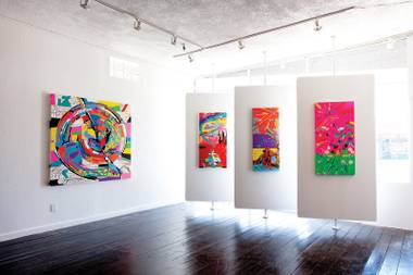 Trifecta Gallery exhibits emerging artists and locals with consistent quality and balance of style.