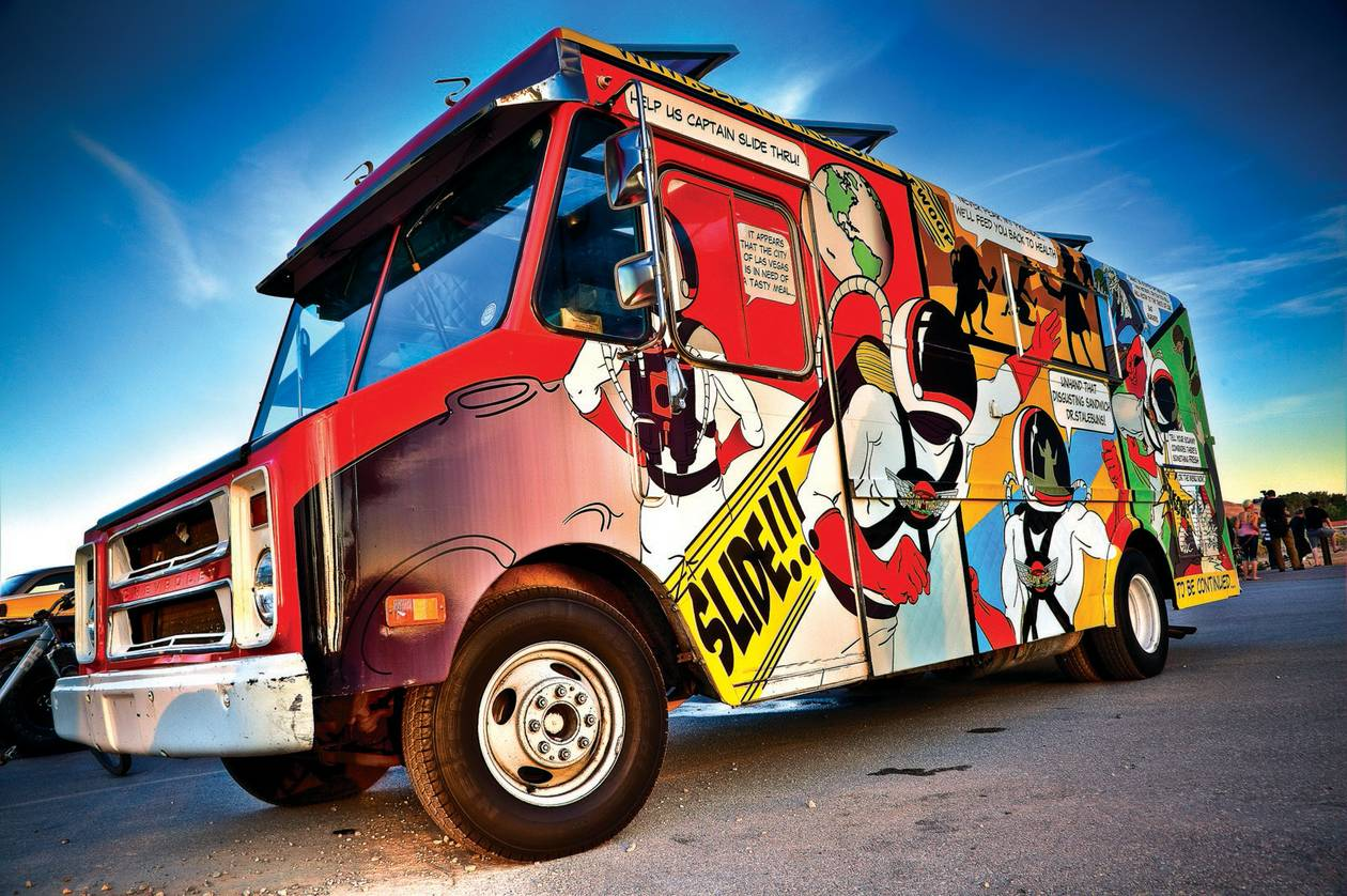 The Windy City could learn a little something from Las Vegas' food truck scene.
