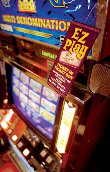 Global Cash's proposal to have ATMs dispense slot machine vouchers has Steve Friess crying foul.
